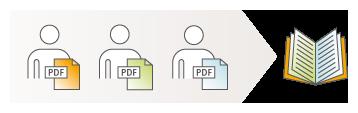 Die Dokumente innerhalb eines Projektes können unabhängig voneinander gepflegt werden
